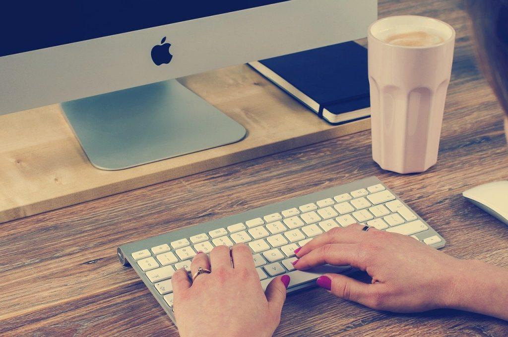 clavier, dactylographie, ordinateur