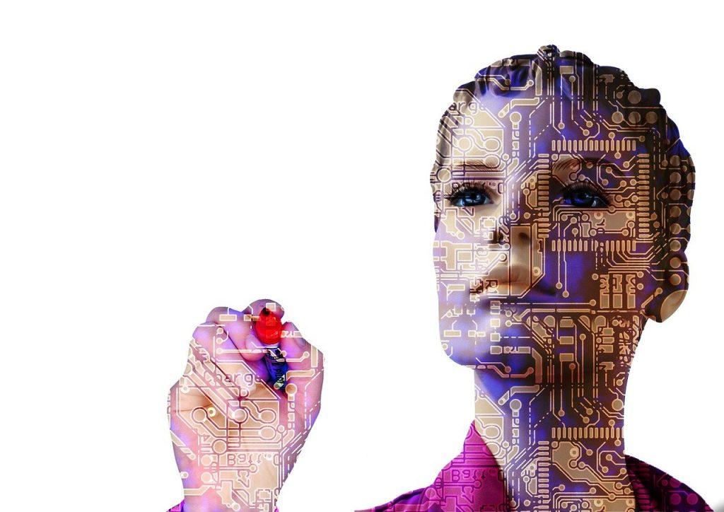 robot, intelligence artificielle, femme